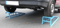 Auffahrrampen für Wohnmobile + Transporter, 4000 kg  1 Paar